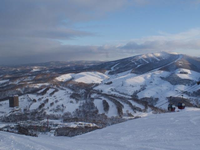 【ルスツリゾート】冬・全景