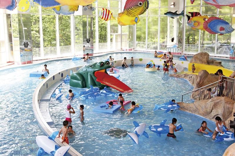 【北海道】〔定山渓温泉〕定山渓ビューホテル 夏はみんなで!「水の王国ラグーン」で遊ぼう!大人気の温泉リゾート☆
