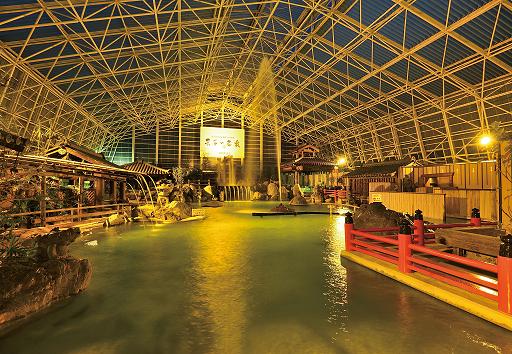 硫黄谷温泉大浴場